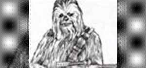 Draw a Wookiee or Chewie from Star Wars