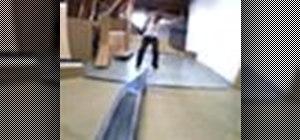 Backslide lipside on your skateboard with Ryan Smith