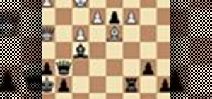 Keep a criminal pawn at bay in a chess middle game