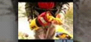 Use kayak river rescue gear & techniques