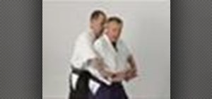 Execute the Aikido wrist lock twist
