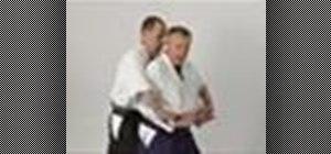 Execute the Aikido wrist lock twist