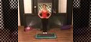 Do shuffle step exercises