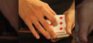 Perform a chosen card to top of the deck magic trick