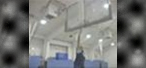 Shoot a layup in basketball