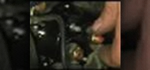 Replace a starter solenoid