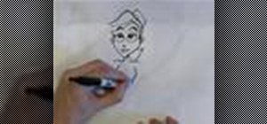 Draw cartoon people