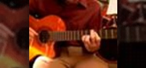 Play bossa nova guitar in D flat major