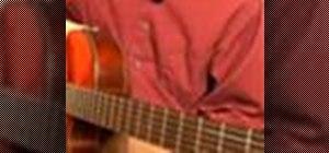 Play bossa nova guitar in C major
