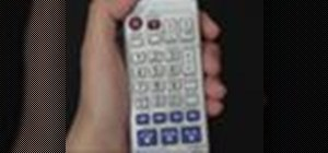 Program the Panasonic remote DMR-EH75V for other TV's