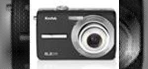 Operate the Kodak EasyShare M863 digital camera