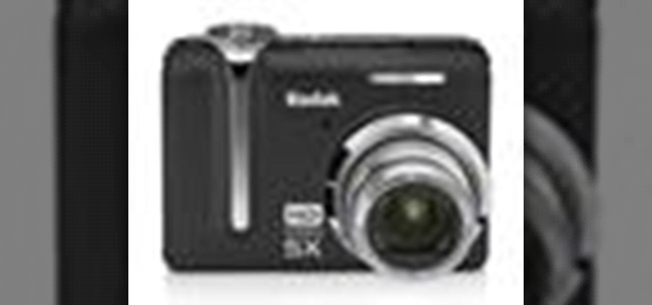 how to operate the kodak easyshare z1285 zoom digital camera rh digital cameras wonderhowto com My Kodak Account Kodak EasyShare Printer Dock