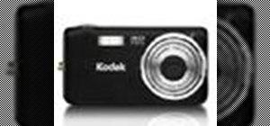 Operate the Kodak EasyShare V1233 Zoom digital camera