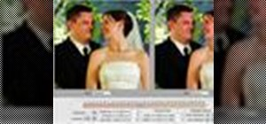 Retouch wedding portraits in PhotoTune for Photoshop