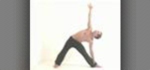 Practice sun salutation sequences with triangle poses