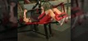 Do a decline bench press