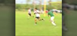 Play backline in a game of rugby