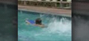 Do swim kick drills when swimming