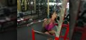 Strengthen legs with deep squat exercises