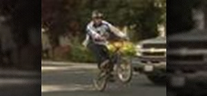 Do a flatland BMX move