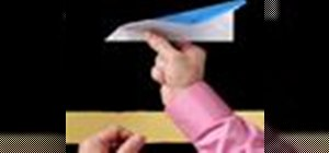 Throw a paper airplane