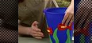 Decorate a sand pail