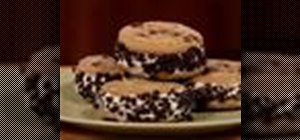 Make ice cream sandwiches
