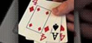 Perform the 3 card monte magic trick