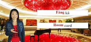 Check into a hotel using the Mandarin Chinese language