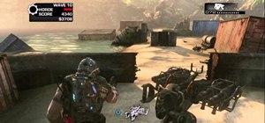 Beat the Brumak boss fight in wave 10 of Horde Mode in Gears of War 3
