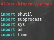 How to : Scripting with Python - A Backup A Day..