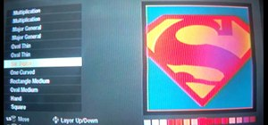 Make a Superman emblem in Call of Duty: Black Ops