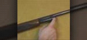 Disassemble a Remington 870