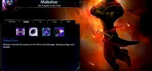 Play Malzahar as a nuke in League of Legends