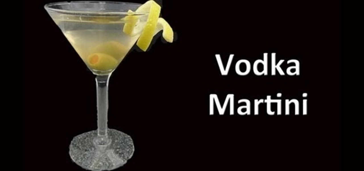 how to make a perfect vodka martini vodka