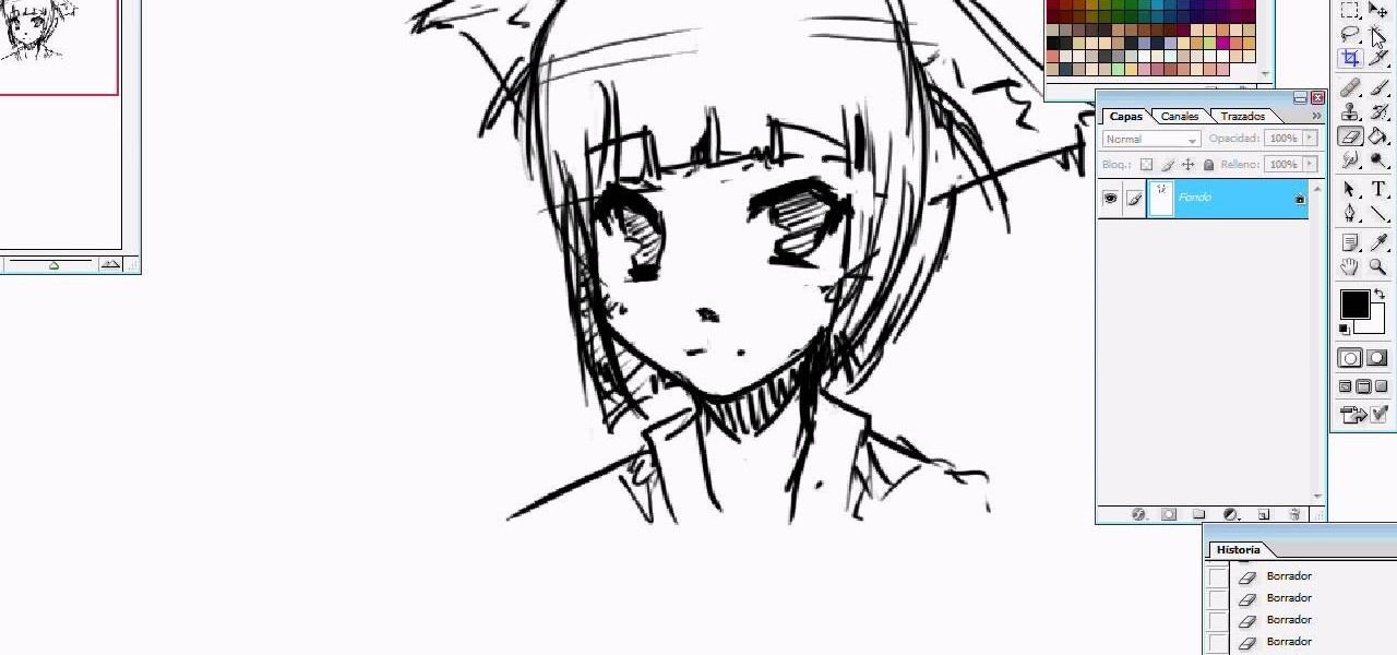 How to Draw a manga fox girl « Drawing & Illustration ...