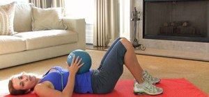 Do exercises with a medicine ball