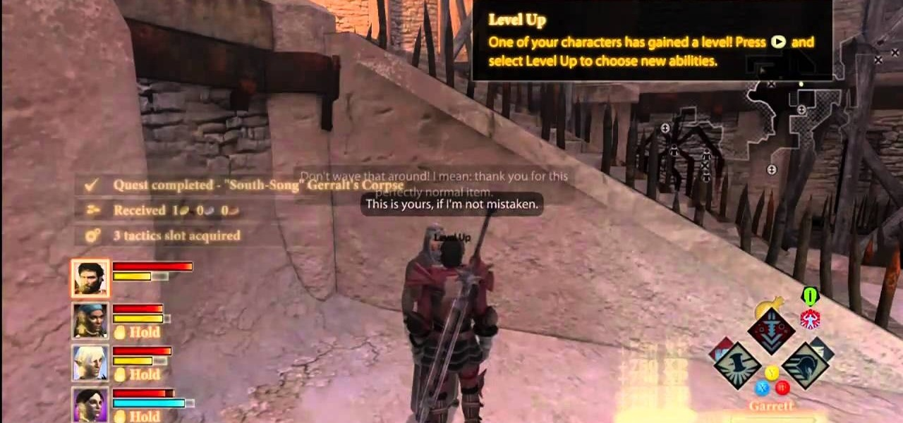 How to Get infinite XP and Money in Dragon Age 2 with a glitch