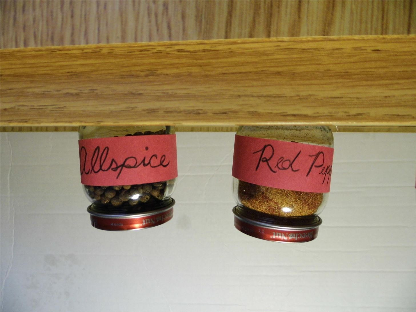 Spice Up Your Kitchen with This DIY Magnetic Steel Rule Spice Rack