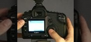 Obtain a white balance on Canon EOS digital cameras