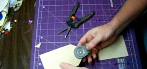 Make your own tag for scrapbooking