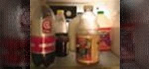 Organize a refrigerator