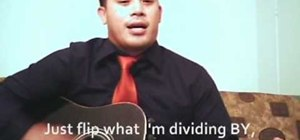 Remember how to divide fractions with a song