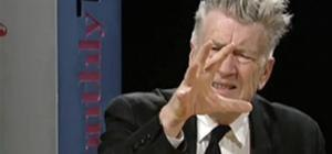 David Lynch Talks about Filmmaking.