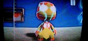 Make an Ironman costume for your puppet in Little Big Planet