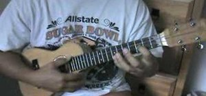 Play high major chords on the ukelele