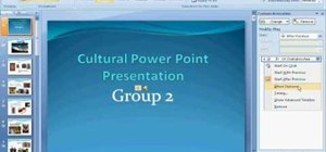 Add continuous music to your PowerPoint presentation
