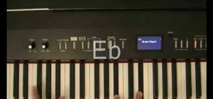 """Play """"Perfect Day"""" by Lou Reed on the piano"""