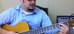 """Play """"Wanted Dead or Alive"""" by Bon Jovi on guitar"""