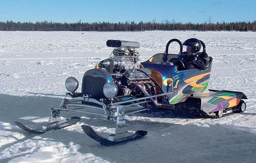 Snow Plow For Chevy Colorado Lars Erik-Lindberg's snow monster hot rod cost $15,000 to build.